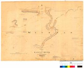 Survey of Kalgan River etc. Sheet 3 (location of Wyndham) by H.M. Ommanney [Tally No. 005317].