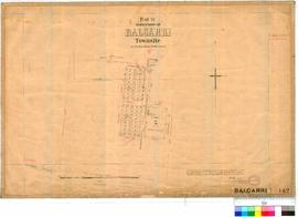 Balgarri 142. Plan of Subdivision of Balgarri Townsite at 42 Mile Tank, 20 Mile Road, William Cum...