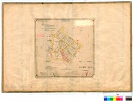 Marble Bar 63/1. Plan of part of Marble Bar Townsite showing Lots 1 to 71 bounded by Augusta, Boh...