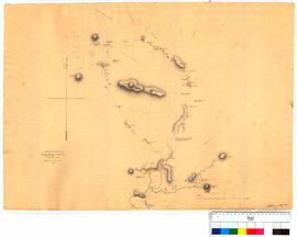 Tracks to the northward of King George's Sound by Alexander Collie Esq. (shows Mount Barker,...