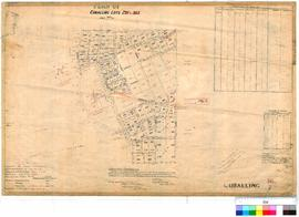 Cuballing 56/7. Plan of Cuballing Lots 293 to 363. William Moss [scale: 5 chains to 1 inch, enlar...