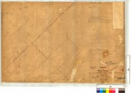 Survey of Swan River Locations 33-36 by I.W. and A.C. Gregory. See I.W. Gregory's, Fieldbook...