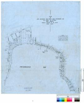 Plan of lots adjoining high water mark, Freshwater Bay, as shown on O.P. 5982 Swan District [scal...