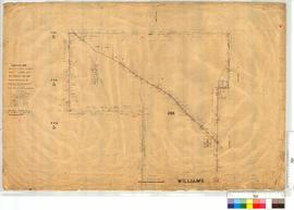 Southern Portion WA Land Co. Location 288, vicinity of Wagin, surveyed by C. Crossland [scale: 30 chains to an inch].