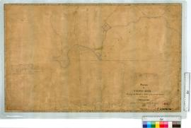 Survey of Canning River showing the boundary marks of the several grants by J.W. Gregory 1842. Co...