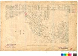 Kalgoorlie 77/62. Kalgoorlie, lots from Hopetoun Street to Jameson Street. Compilation [scale: 3 ...
