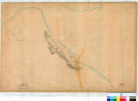 Perth 18O. Plan, part of Perth showing Convict Depot under Mt Eliza by William Phelps, Fieldbook 1, dated 1858. (Corrected 12/7/1864). [scale: 2 chains to an inch, Tally No. 005766].