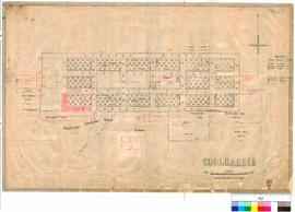 Coolgardie 76/2. Coolgardie townsite. R. Gledden, G. C. Hamilton, J. O. Oxley [scale: 3 chains to...