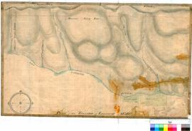 Kelmscott 20/1. Plan of The Township of Kelmscott 1830. West position. Includes Canning River and...