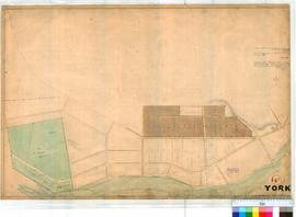 York 14B. Plan of Townsite of York showing Lots bounded by Herbert Road, Newcastle, Lincoln &...